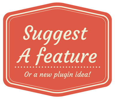Conversational form WordPress plugin - Suggest A feature